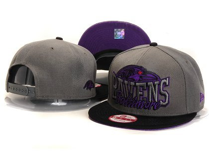Baltimore Ravens New Type Snapback Hat YS 6R18